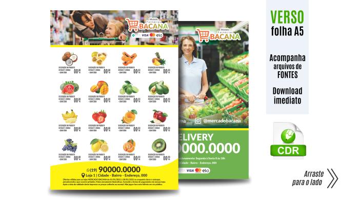 Encartes para Supermercados Farmácias Serviços Entonz Freelancer